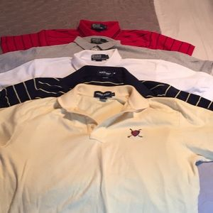 5 polo by Ralph Lauren shirts